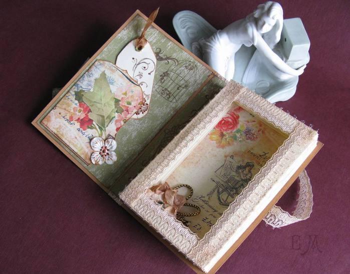 Открытки, как сделать книжку из открыток