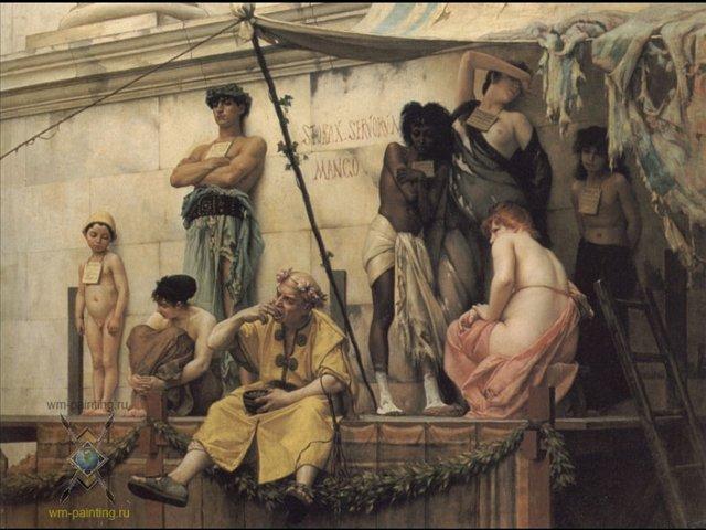 Секс хозяина и рабыни в древнем риме смотреть онлайн