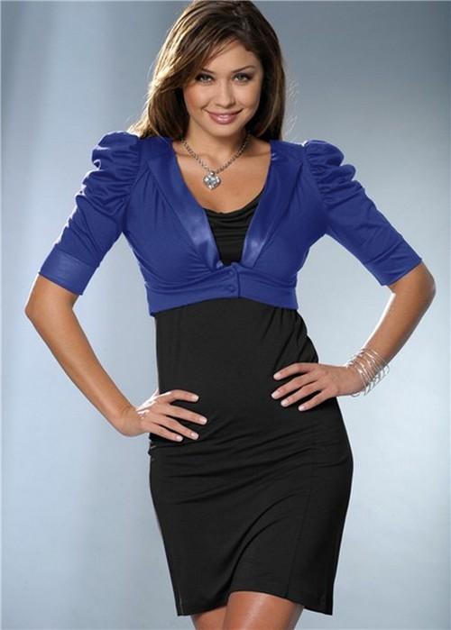 Тренд моды 2012 - длинные, короткие и средней длины юбки из трикотажа.