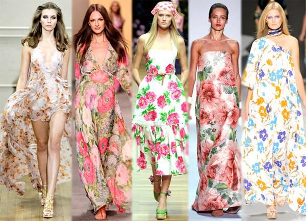 Мода весна-лето 2011 - Модные платья - Платье в полоску.