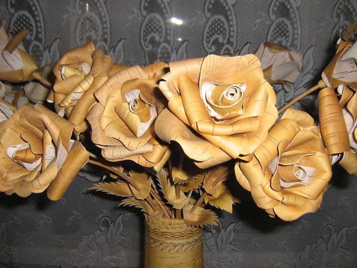 Цветов, заказать цветы из бересты своими руками