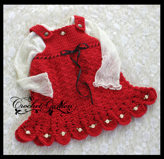 вязание для детей манишка крючком - Выкройки одежды для детей и взрослых.