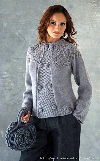 Вязанная одежда - Вязаные Кофты