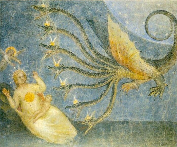 722px-Woman_and_dragon_(Giusto_de_Menabuoi) (700x581, 103Kb)