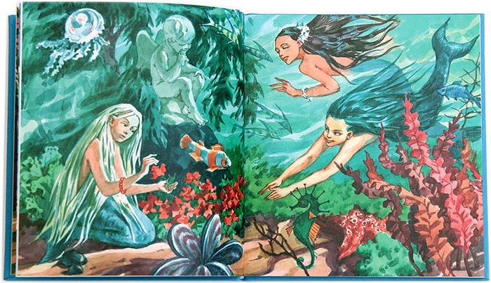 Иллюстрации к сказке андерсона русалочка