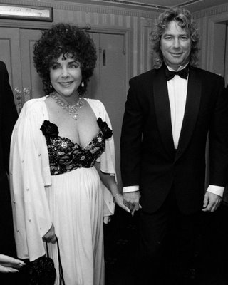 Elizabeth Taylor and Larry Fortensky (320x400, 22Kb)