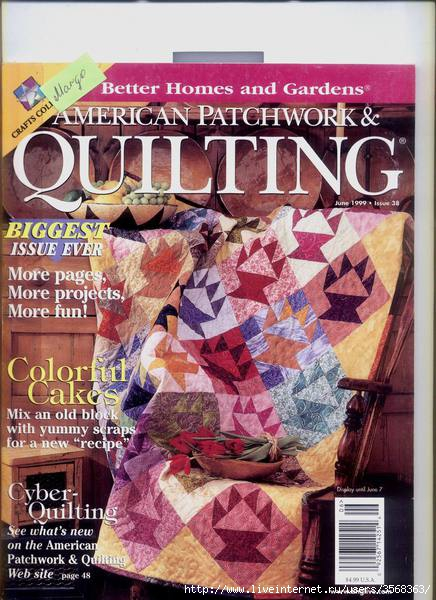 American Patchwork & Quilting no 38 (436x600, 182Kb)