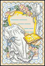 Dimensions 06873 Baby's Gown Birth Record (156x228, 15Kb)