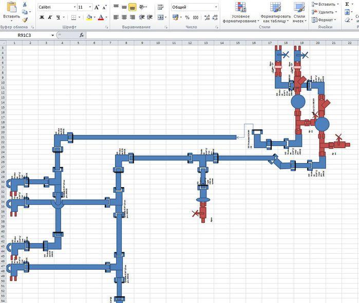 Программа для создания водопроводных схем скачать