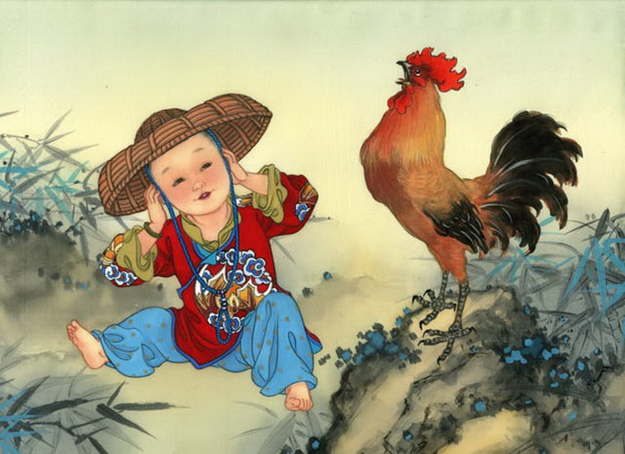 year of the rooster - boy -Cocks-Crow (700x508, 103Kb)