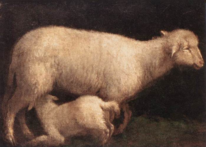 2010239_Bassano,_Jacopo___Sheep_and_Lamb_1560 (700x500, 44Kb)