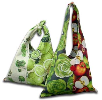 Шьем текстильные сумки на лето.