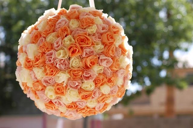 Фотоурок: делаем свадебную пиньяту