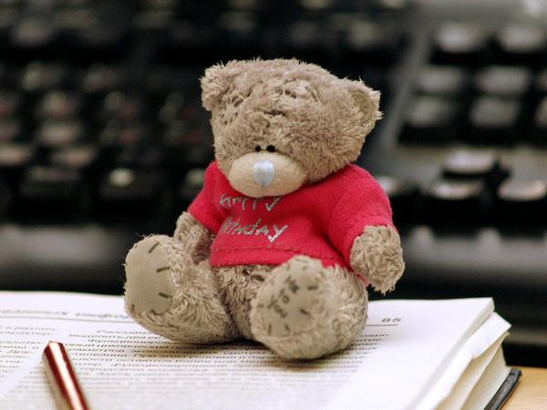 мишка Тедди.
