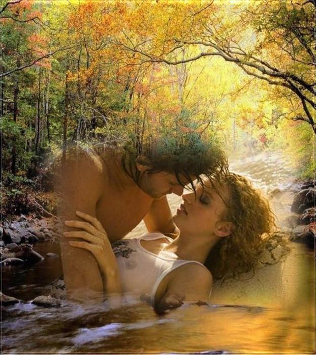 Ромашками днем, открытки целую тебя нежно любимой женщине