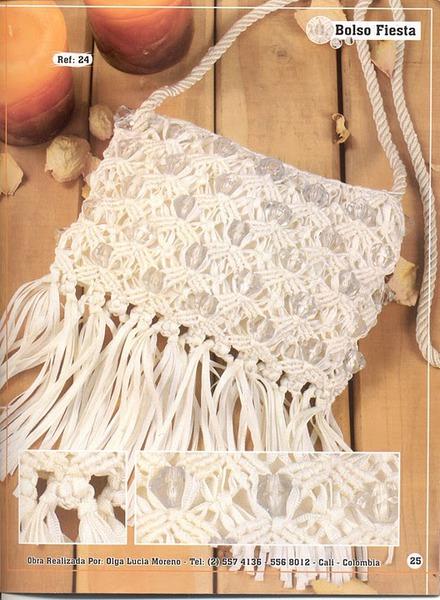 плетение сумок макраме - Сумки.