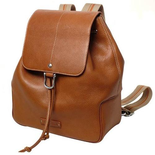 Выкройка рюкзака из кожи.