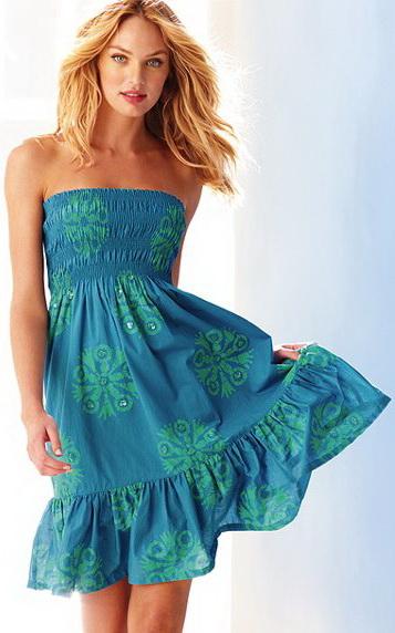 сшить летнее платье самому