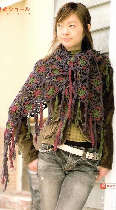 Вязание крючком/Шапки, шарфики, шали, пончо, перчатки.