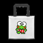 Основа: Бело-черная хлопковая сумка ProstoPrint EcoNew Summer.