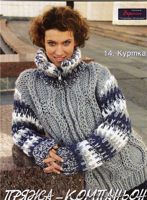 модели вязания из толстой пряжи