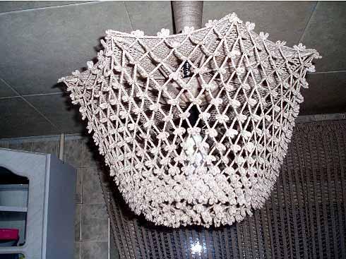 """Люстра на кухню Каркас сделан из зонта.  Конкурс  """"Украшаем дом """" (архив)"""