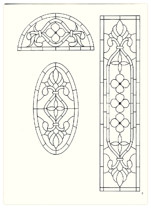 Decorative Doorways Stained Glass - 07 (508x700, 155Kb)