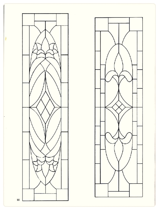 Decorative Doorways Stained Glass - 10 (530x700, 137Kb)