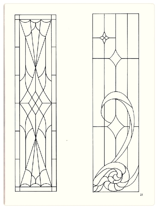 Decorative Doorways Stained Glass - 25 (530x700, 125Kb)
