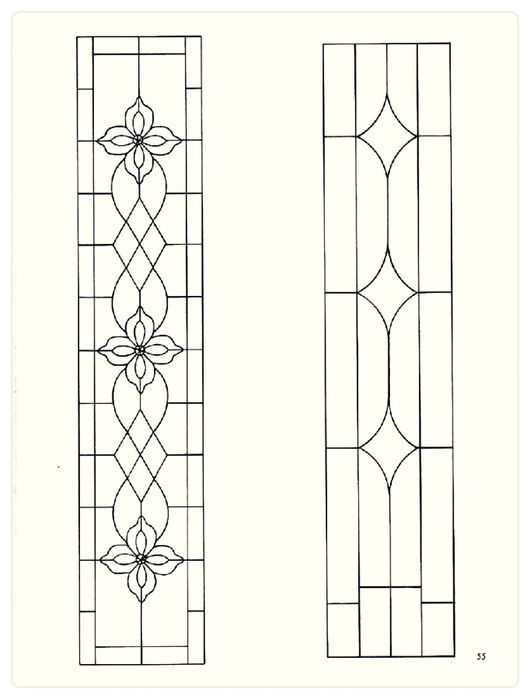 Decorative Doorways Stained Glass - 55 (530x700, 103Kb)