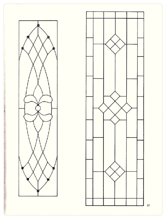 Decorative Doorways Stained Glass - 57 (530x700, 116Kb)