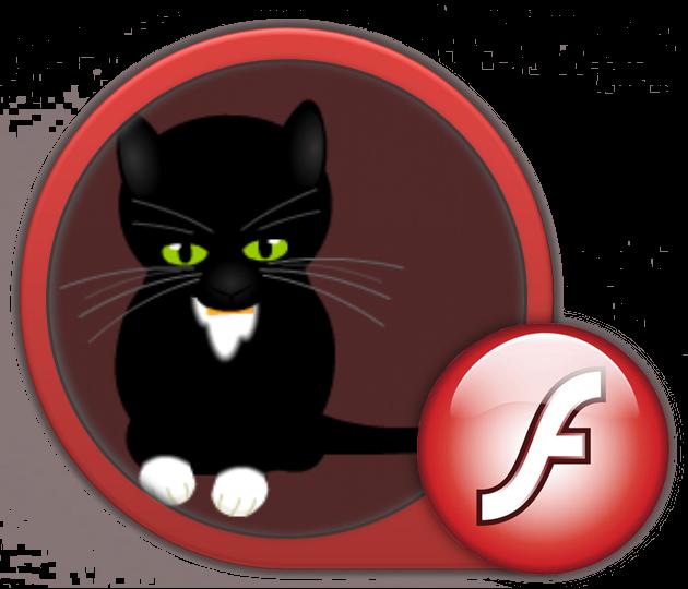 открытка флэш котик ресницы позволяют наносить