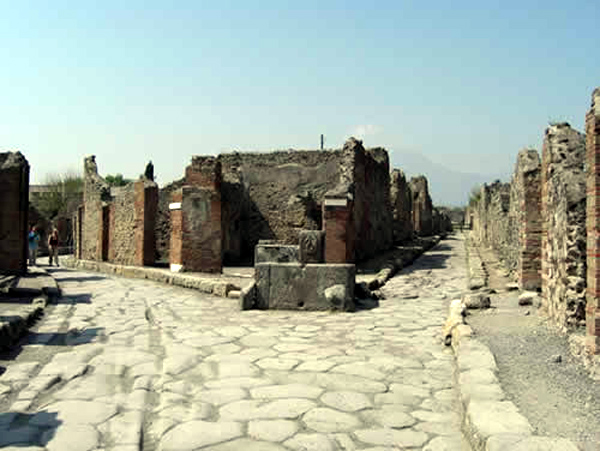 Улицы Помпей