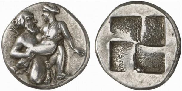Монеты с изображением секса