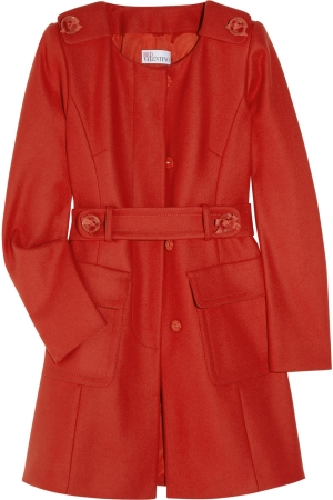 Превью Red Valentino Wool-blend felt coat (300x450, 86Kb)