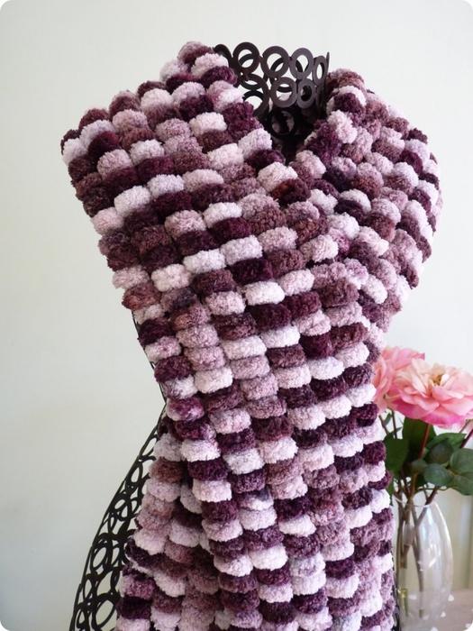 4114762_Pom_Pom_wool_scarf_purple (525x700, 279Kb)