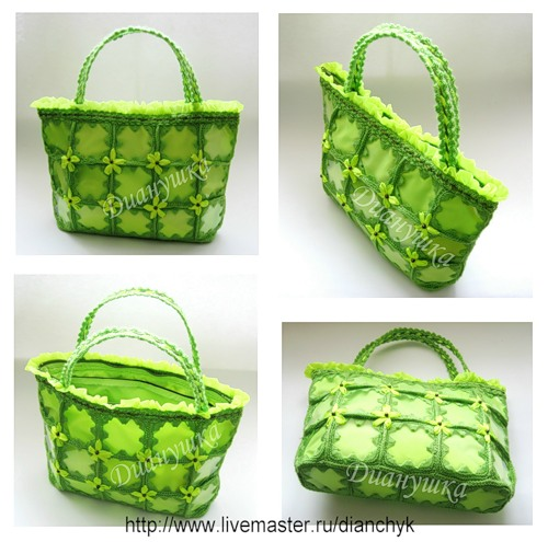 Мастер-класс: Летняя сумочка из пластиковых бутылок Вязать сумку крючком.