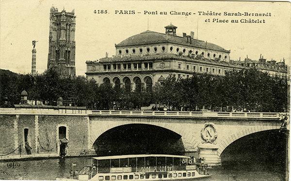 Скучаю тебе, старый париж на почтовых открытках