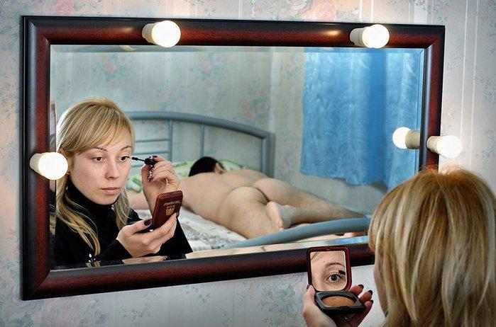 Сонник голая в зеркале Вас