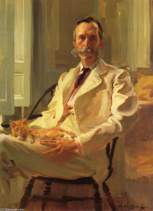 Cecilia-Beaux-Man-with-the-Cat-Henry-Sturgis-Drinker- (509x700, 246Kb)