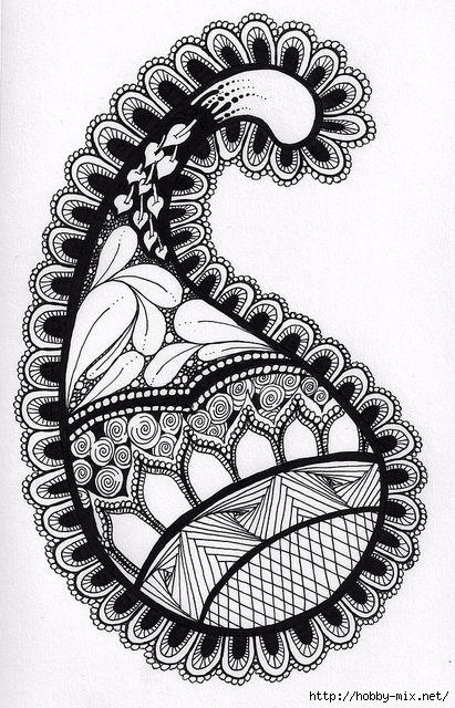 Doodle & Zentangle. Обсуждение на LiveInternet ...