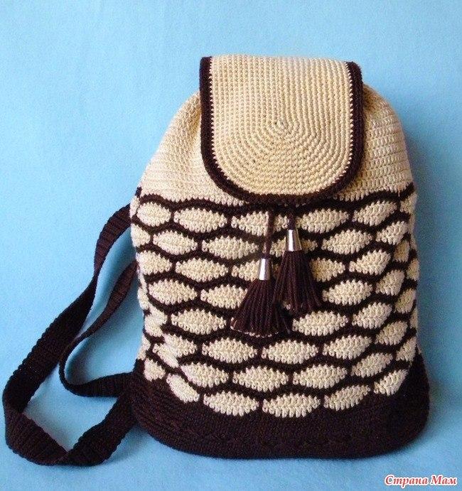 7c43d318a764 вязаный рюкзак крючком - Самое интересное в блогах