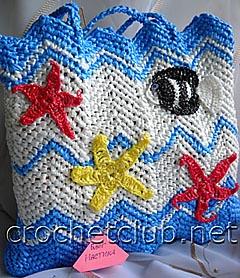 Вязание.  Большие и маленькие, сумки крючком и спицами ... для...