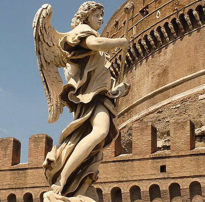 450px-Angel_of_Ponte_Sant'Angelo (684x675, 225Kb)