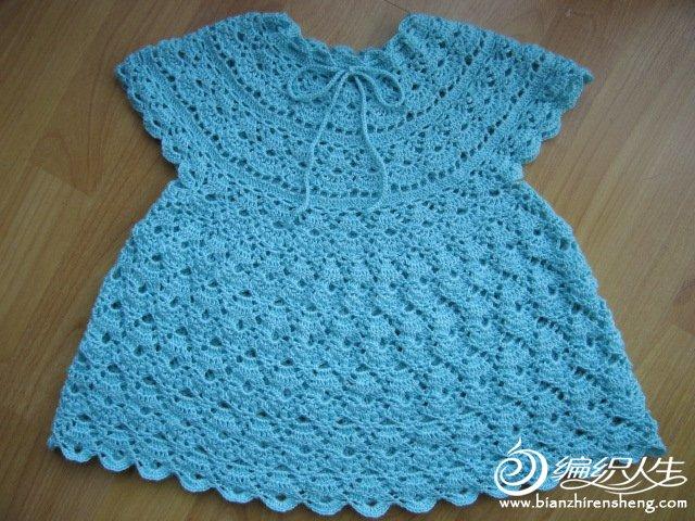 Вязание крючком детям ажурные платья