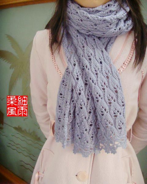 ажурный шарф спицами. ажурные шарфы спицами схемы.