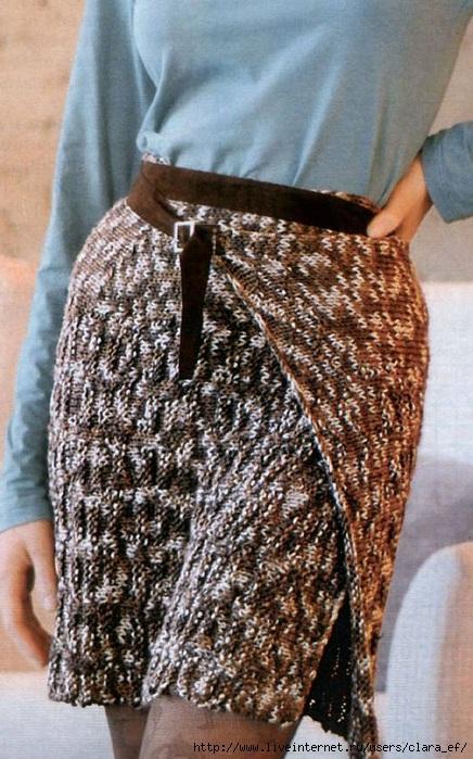 Вязание юбок на спицах.  Сентябрь 25, 2012.  Обсуждение закрыто.