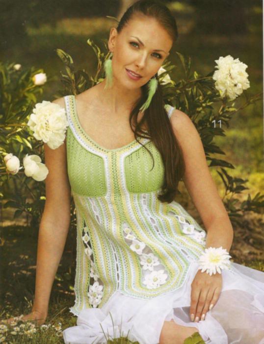 Это фото можно посмотреть в каталоге Интернет магазин вязаное платье , Вязанные кофточки крючком , Жилеты женские