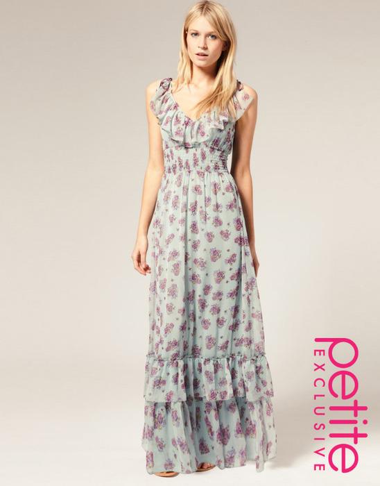 шифоновое платье от ASOS.  - Интернет.