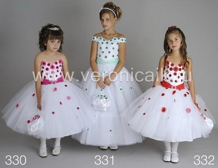 Новая коллекция daga нарядных платьев для девочек лето 2012!